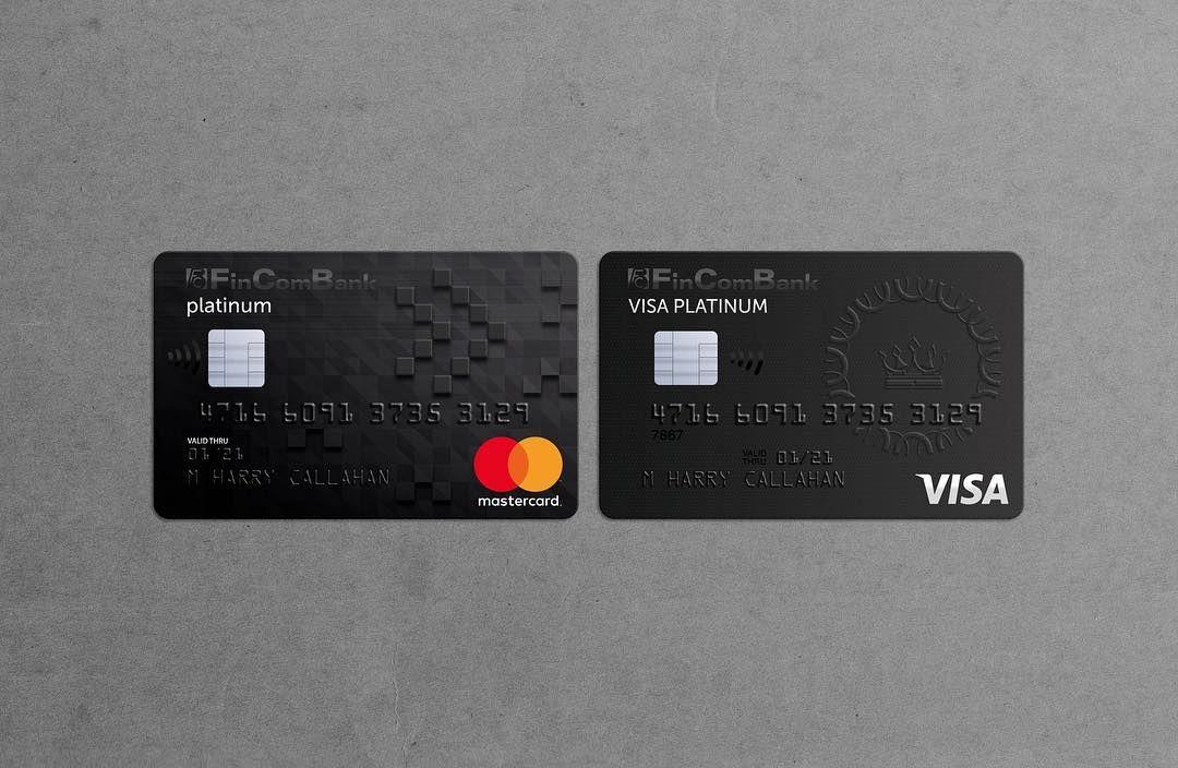Credit Card Design For Premium Banking Services Tarnovski Branding Agency Credit Card Design Unique Business Cards Card Design