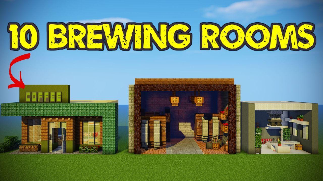 Minecraft Brewing Room Designs