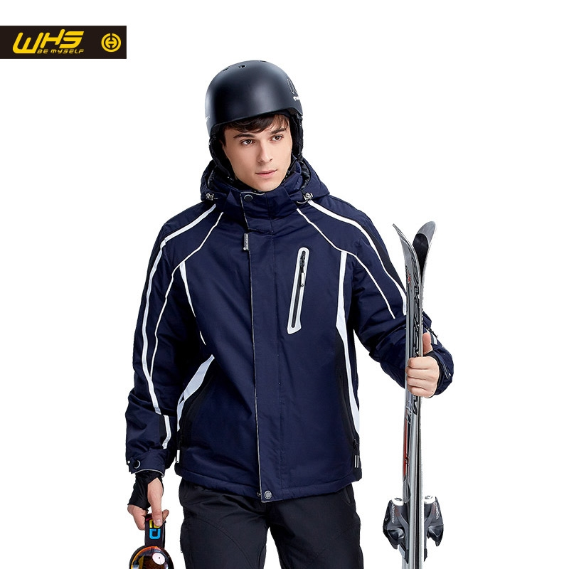 127.00$  Know more - http://aia7j.worlditems.win/all/product.php?id=32660051955 - WHS New Skiing jacket men outdoor sport coat warm windproof snow jackets waterproof breathable Sportswear winter