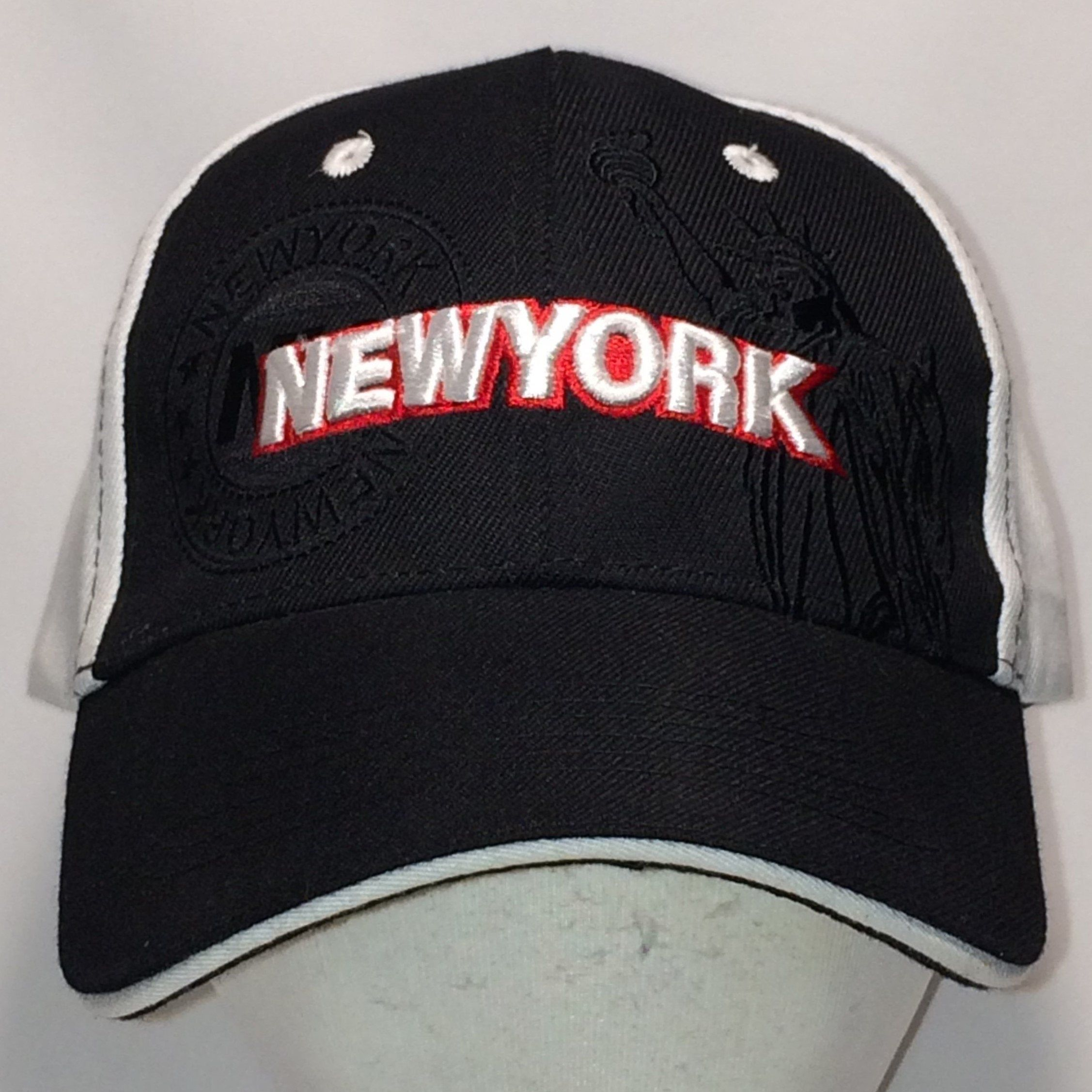 Vintage Big Apple Hat New York Baseball Cap Ny Dad Hats Statue Of Liberty Nyc Black White Travel Sports Caps Cool Gifts For Men Dad Hats Apple Hat Hats For Men