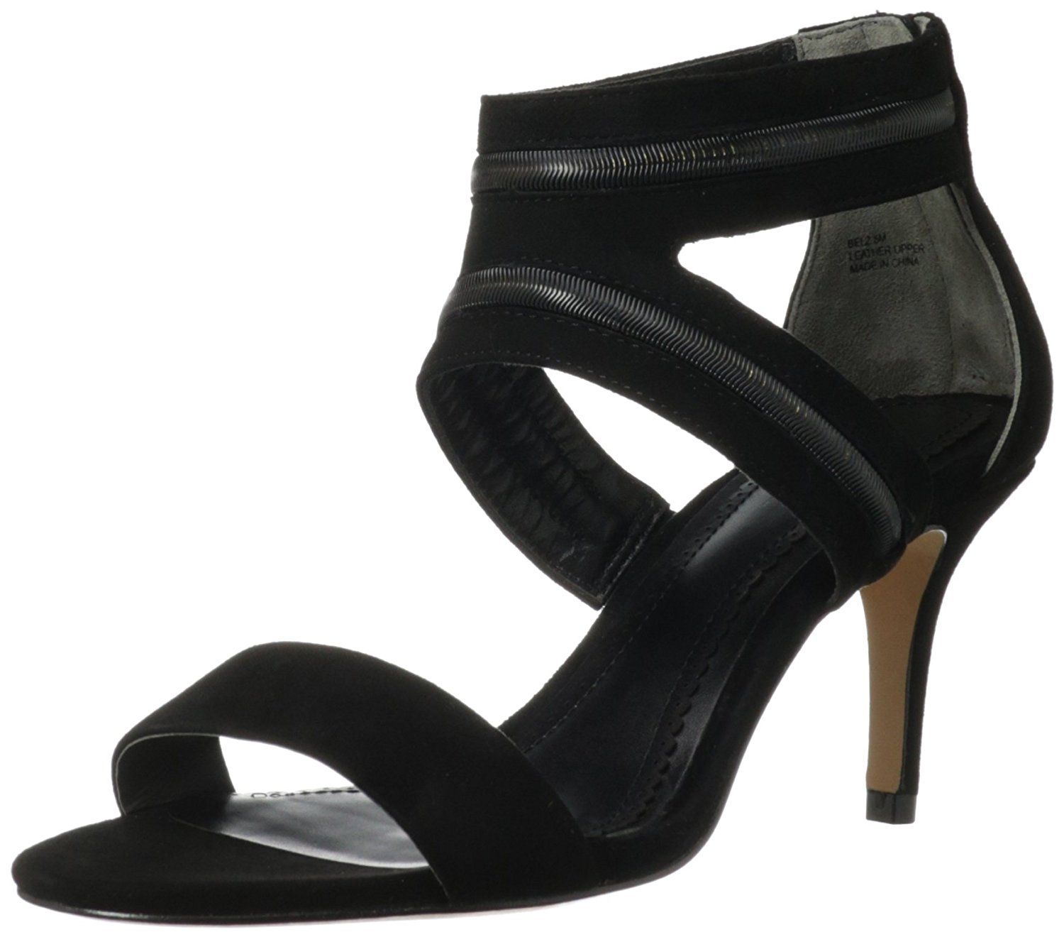 Pour La Victoire Womens Belz Dress Sandal Black Size 60