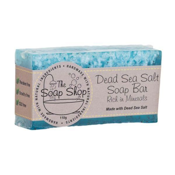 Buy Dead Sea Salt Soap 4.3 oz from SunFeather and Save Big