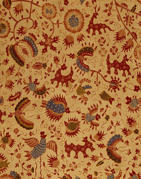 Skirt cloth, late C19th, Java | V Search the Collections
