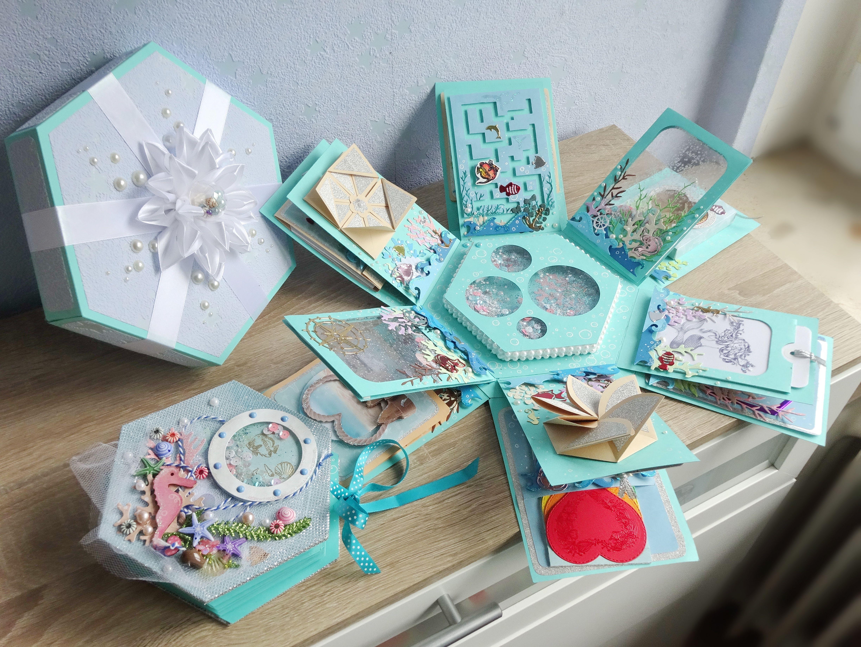 Картинки, оригинальная открытка коробка с днем рождения своими руками