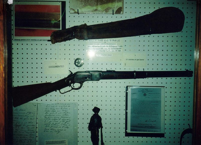 Billy The Kid's Winchester 1873 Rifle