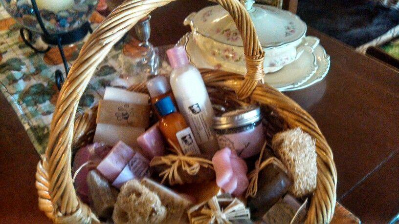 Home Made Lavender Bars w Shea Butter, Lavender Shimmer Lotion, Lavender Bath Scrubs w Vit E Farm Ladies on fb