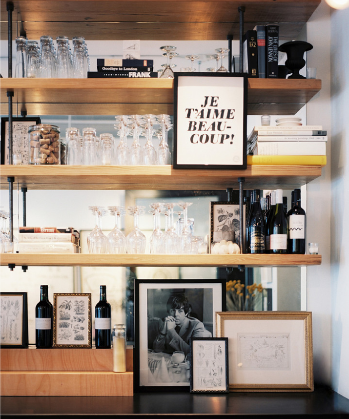 Pin By Reham Hany On Open Shelving: Bar, Roommate And Book Shelves