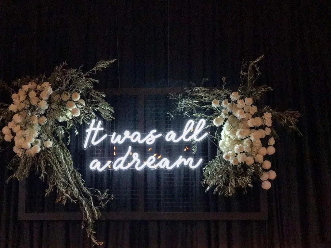 About last night.... Neon wedding, Wedding decorations