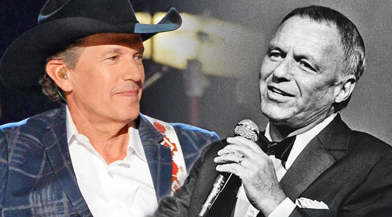 Frank Sinatra And George Strait S Voices Put Together For Fly Me To The Moon Virtual Duet George Strait King George Strait George Strait Family