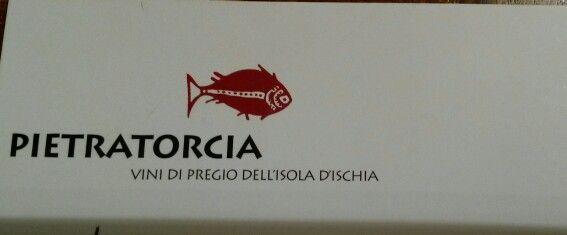 Wine of forio ischia (Italy)