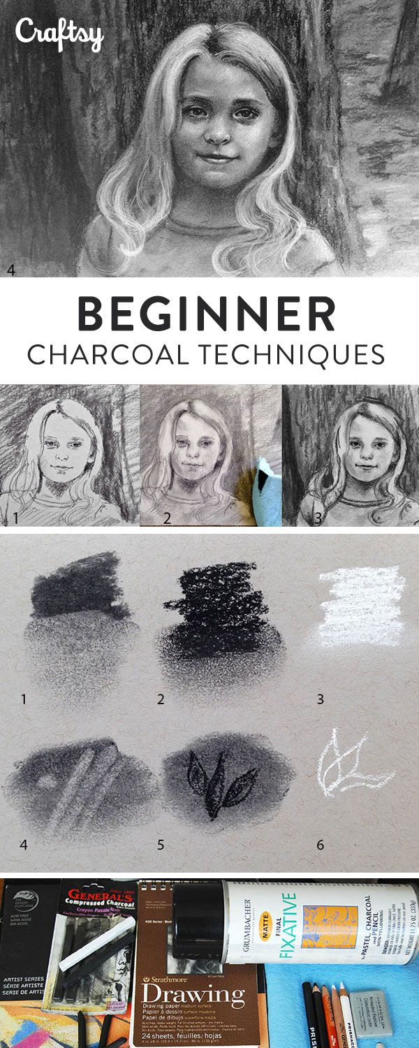 Whether you're new to drawing or an experienced artists, practicing common charcoal techniques can help make your artwork more eye-catching and lifelike.