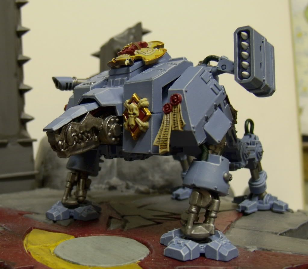 General Warhammer 40k Space Marines: Coolest Dreadnaught Conversion?
