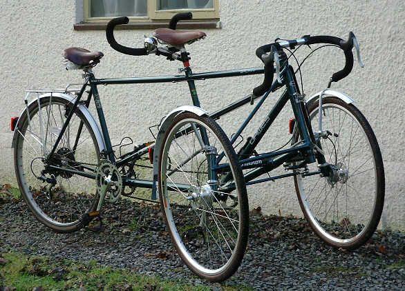 Welded Conversion Tandem Bike Tandem Bicycle Tandem
