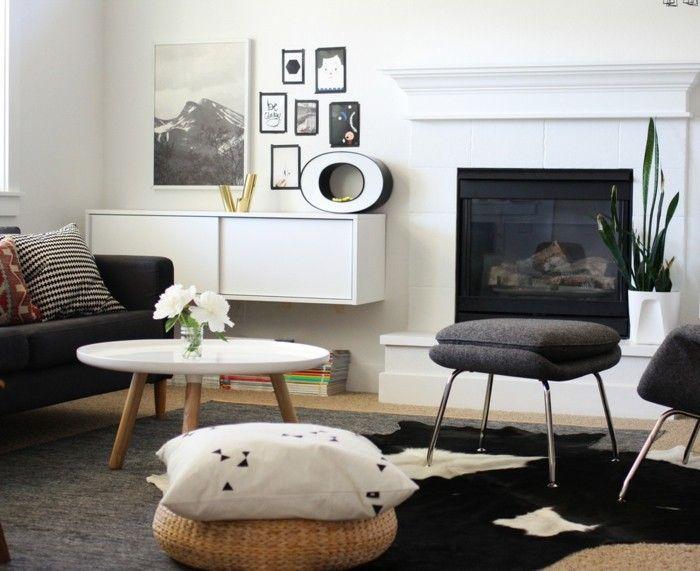 buchstaben deko dezente dekoration im wohnzimmer modern living - Deko Modern Living