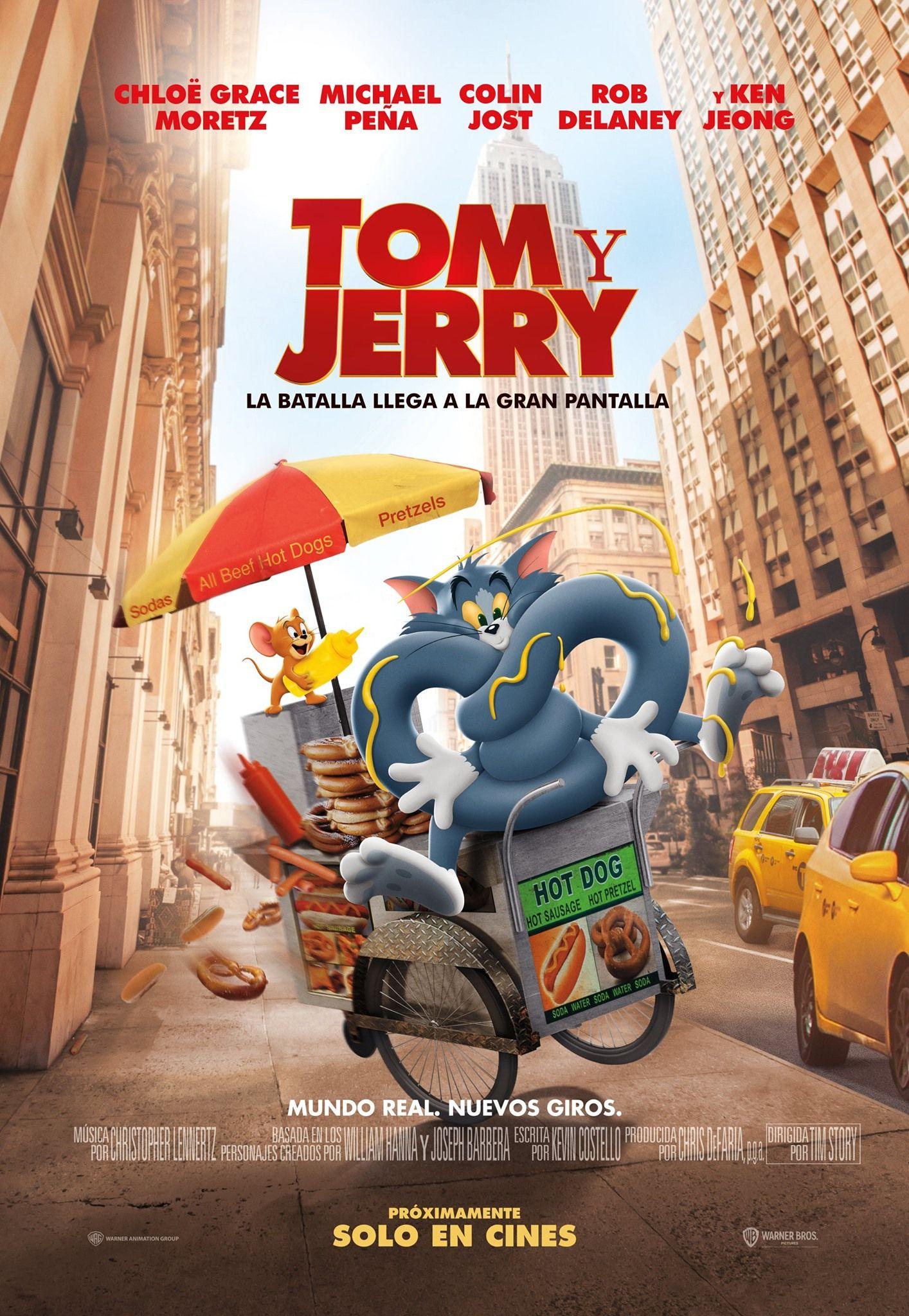 La Pelicula De Tom Y Jerry Anuncia Fecha Oficial De Estreno In 2021 Tom And Jerry Tom And Jerry Movies Tim Story