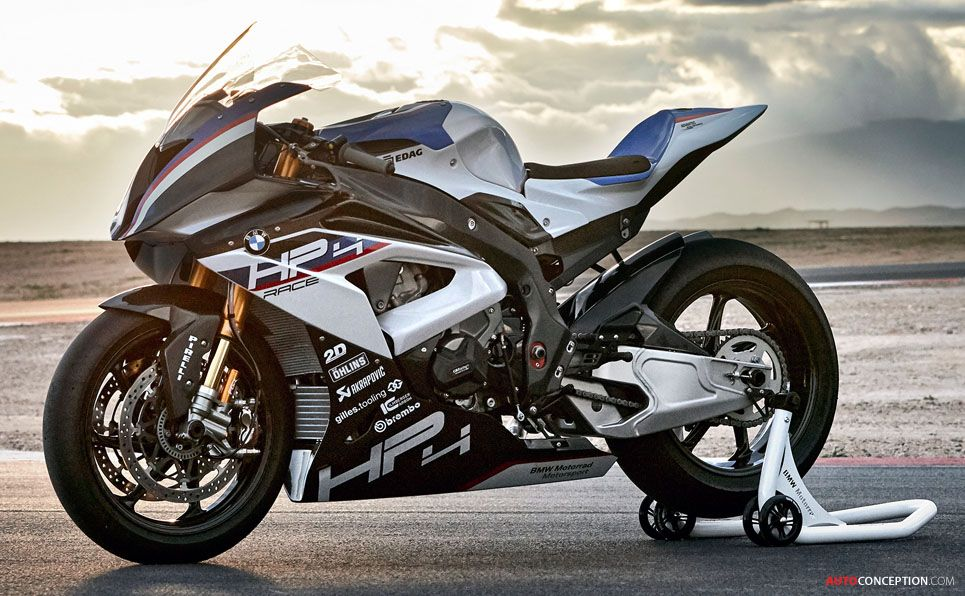 BMW HP4 Race Superbike Unveiled