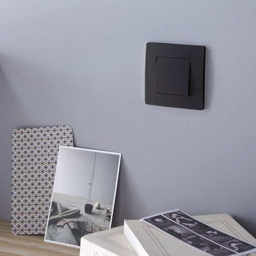 Legrand Niloe Black Decor Interior Ap Prise