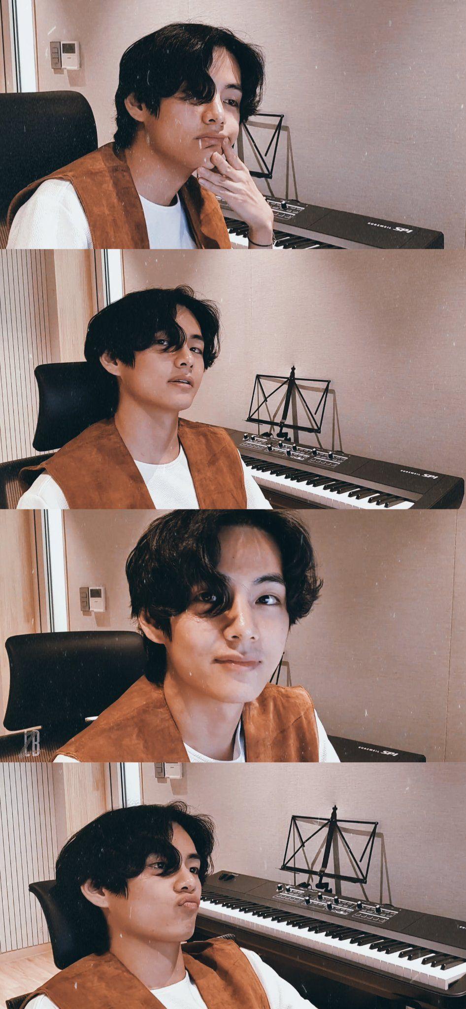 Pin by ℋ𝓉ℯ𝓉 ℳ𝓎𝒶𝓉🍀 on V ( Kim Taehyung ) in 2020 Taehyung