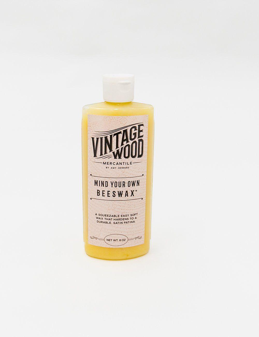 Mind Your Own Beeswax 8 Oz Beeswax Wax Vintage Wood