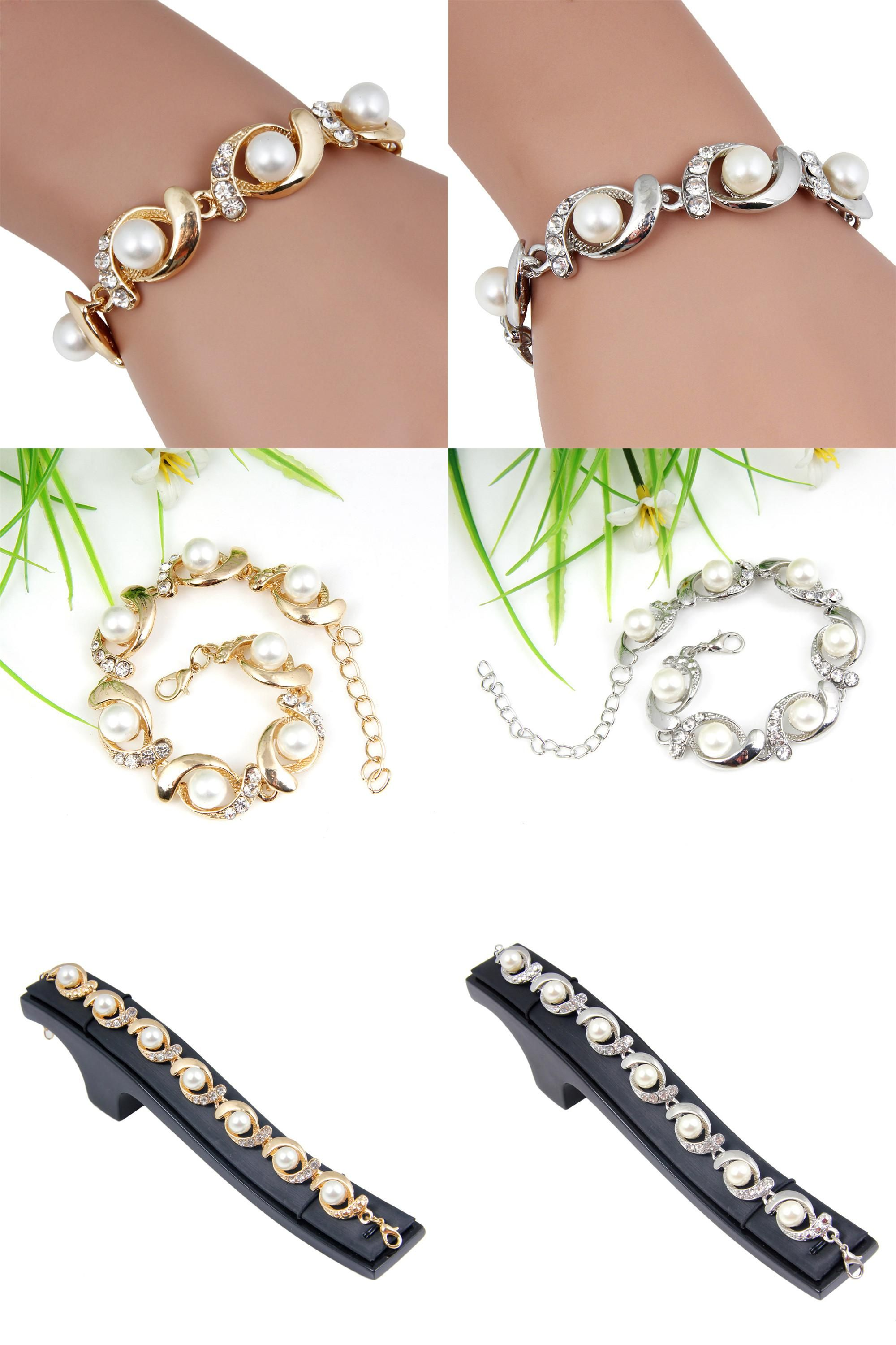 Visit to buy fashion elegant women lady gold silver imitation