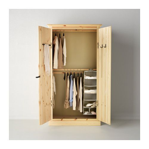 FJELL Wardrobe with 2 doors IKEA 110x64x208 cm 8jt Project Department Pinterest Doors