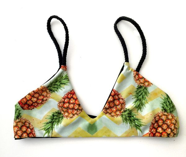 Olivia Top - Pineapple Chevron - Lali and Layla