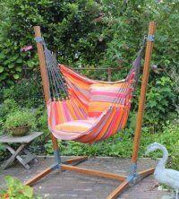 Support Chaise Hamac Panda En Bois Bamboo Hammock Chair Stand Hammock Hammock Chair