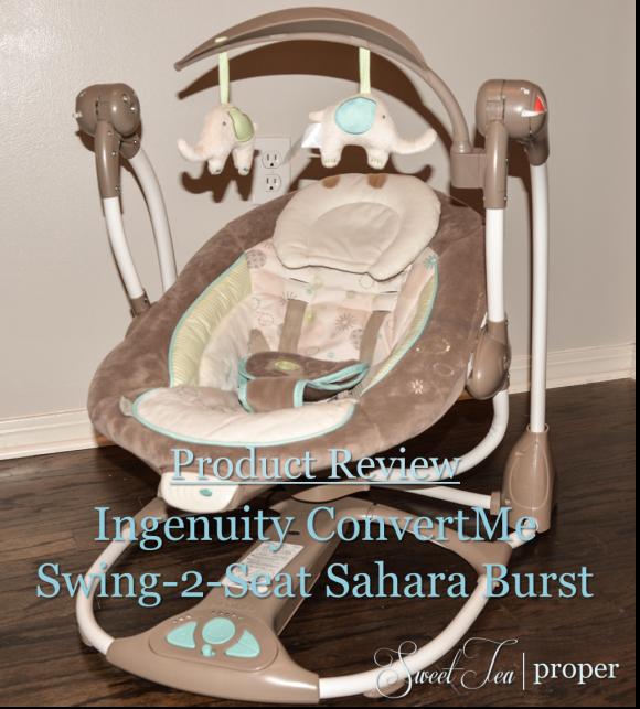 Ingenuity Convertme Swing 2 Seat Sahara Burst Product