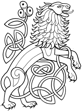 Celtic Animals Coloring Book | Coloring pages | Celtic animals ...