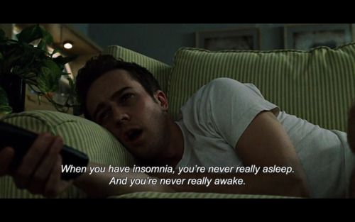 Movie Quotes About Insomnia Insomnia Quote