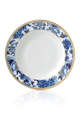 Wedgwood Blue WEDGW HIBISCUS RIM SOUP