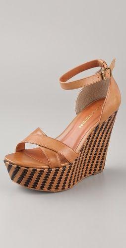 Pour La Victoire Bonita Platform Wedge Sandals - StyleSays