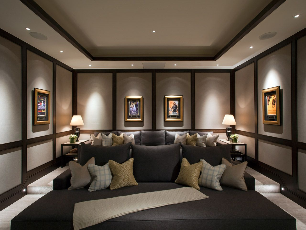 knightsbridge mews london finchatton home cinema. Black Bedroom Furniture Sets. Home Design Ideas