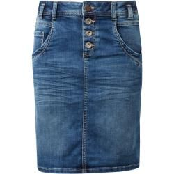 Photo of Tom Tailor women's denim skirt, blue, solid color, size 42 Tom TailorTom Tailor