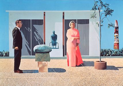 David Hockney, American Collectors (Fred & Marcia Weisman) on ArtStack #david-hockney #art