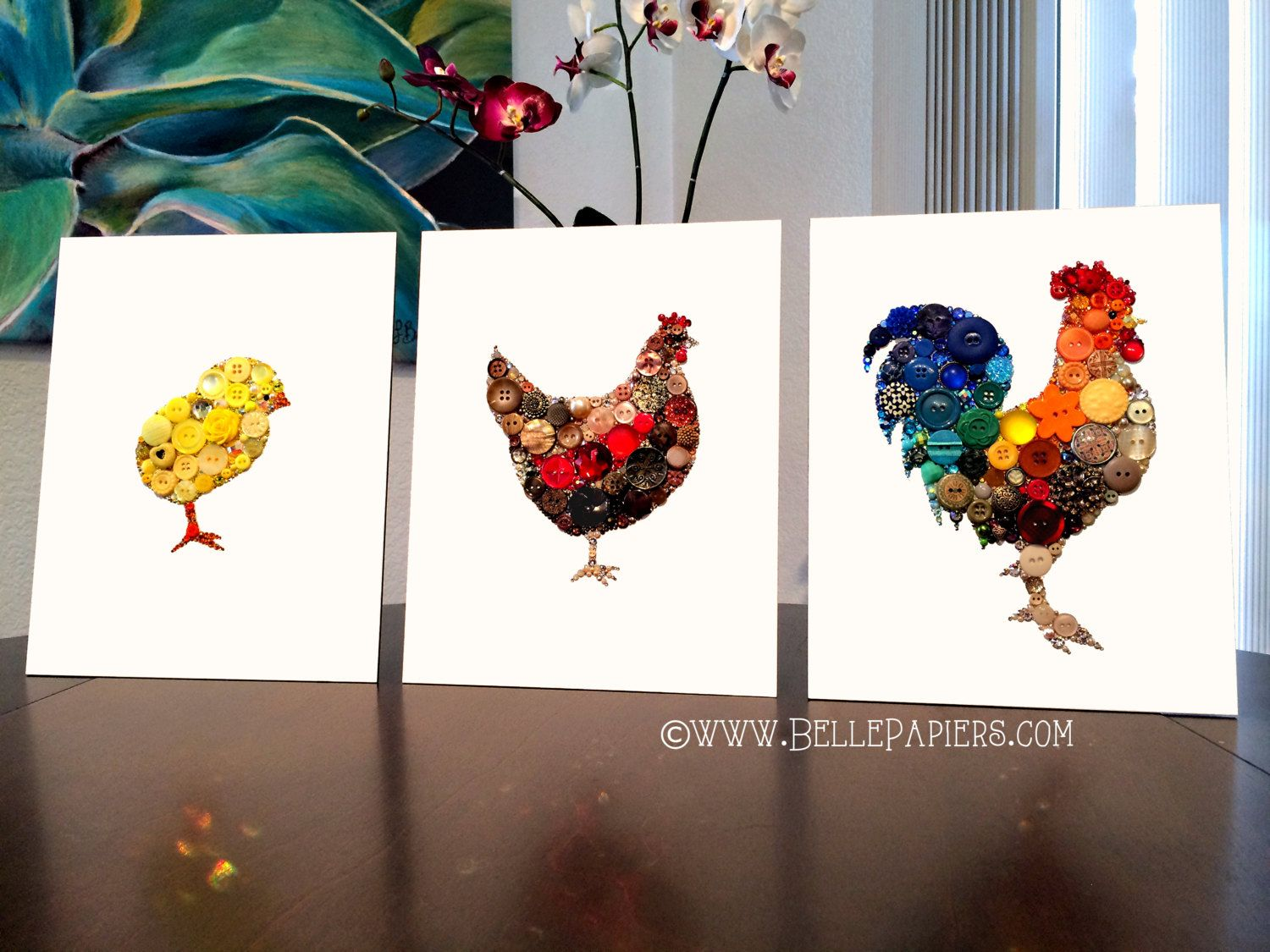 Rooster Wall Hanging Kitchen Decoration Rooster Wall Art Kitchen Art ...