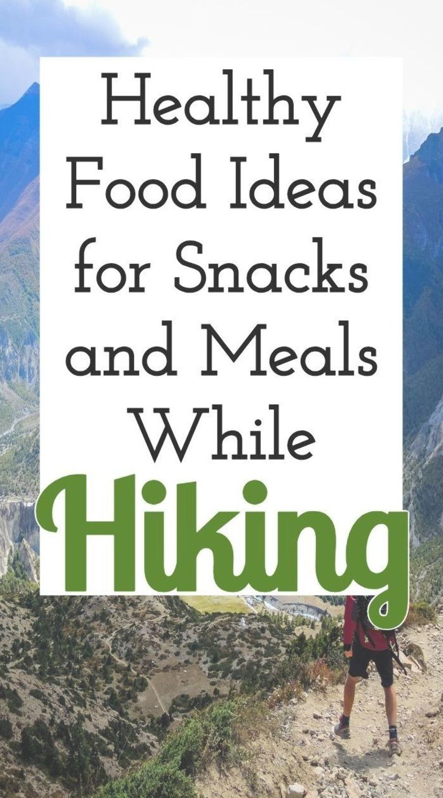 Food becomes so important when we travel outdoors. So, we have created a complete list of healthy f