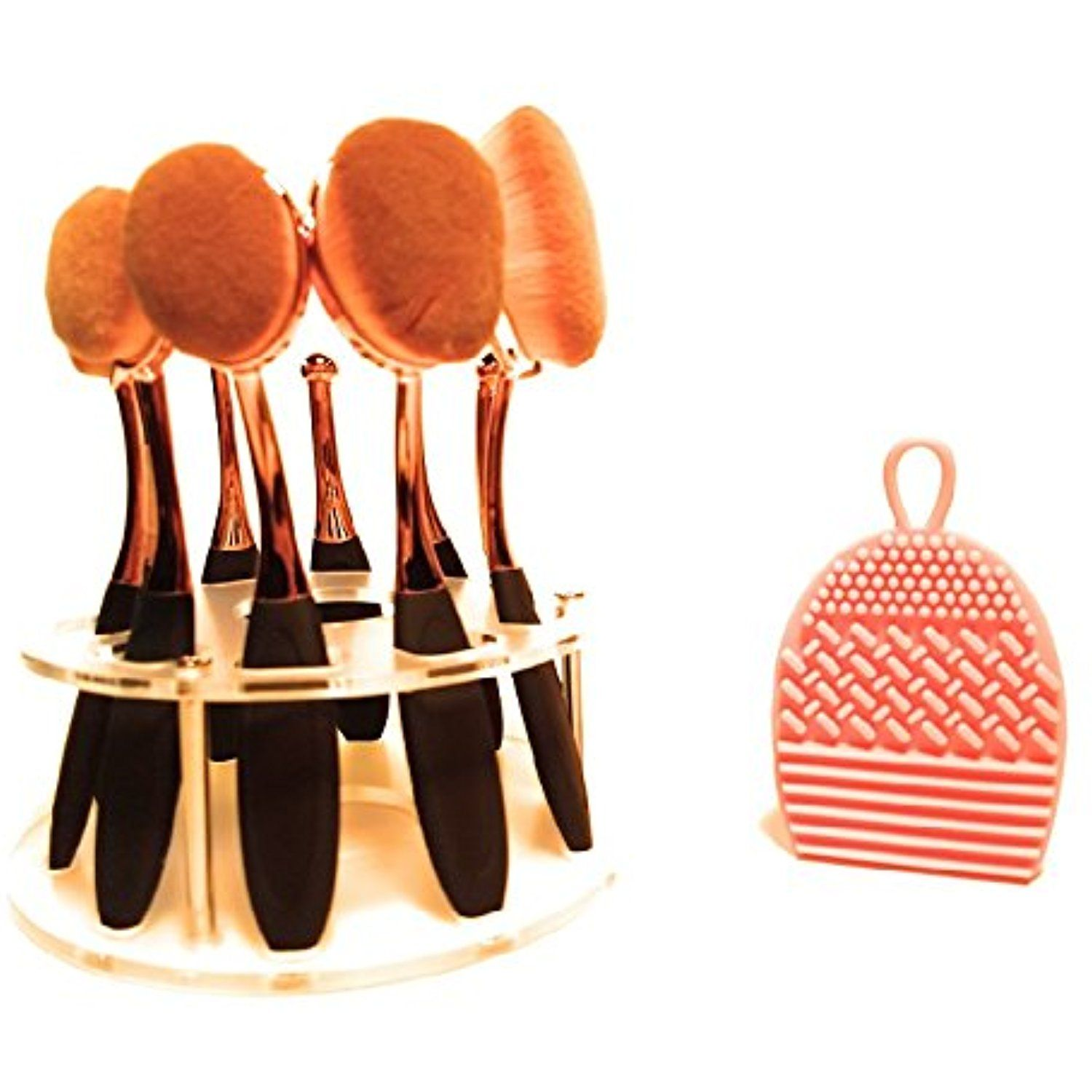 Professional Artist Makeup Brushes with Round Makeup Brush