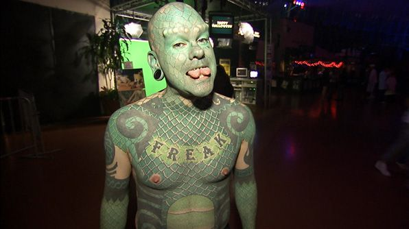 Image result for Lizard man tattoo