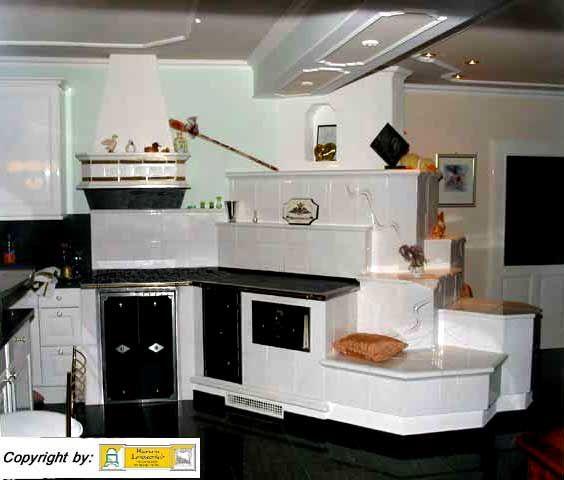 Kachelofen herd mit Sitzplatz Houses - Kitchen Pinterest - küchen holzofen wasserführend