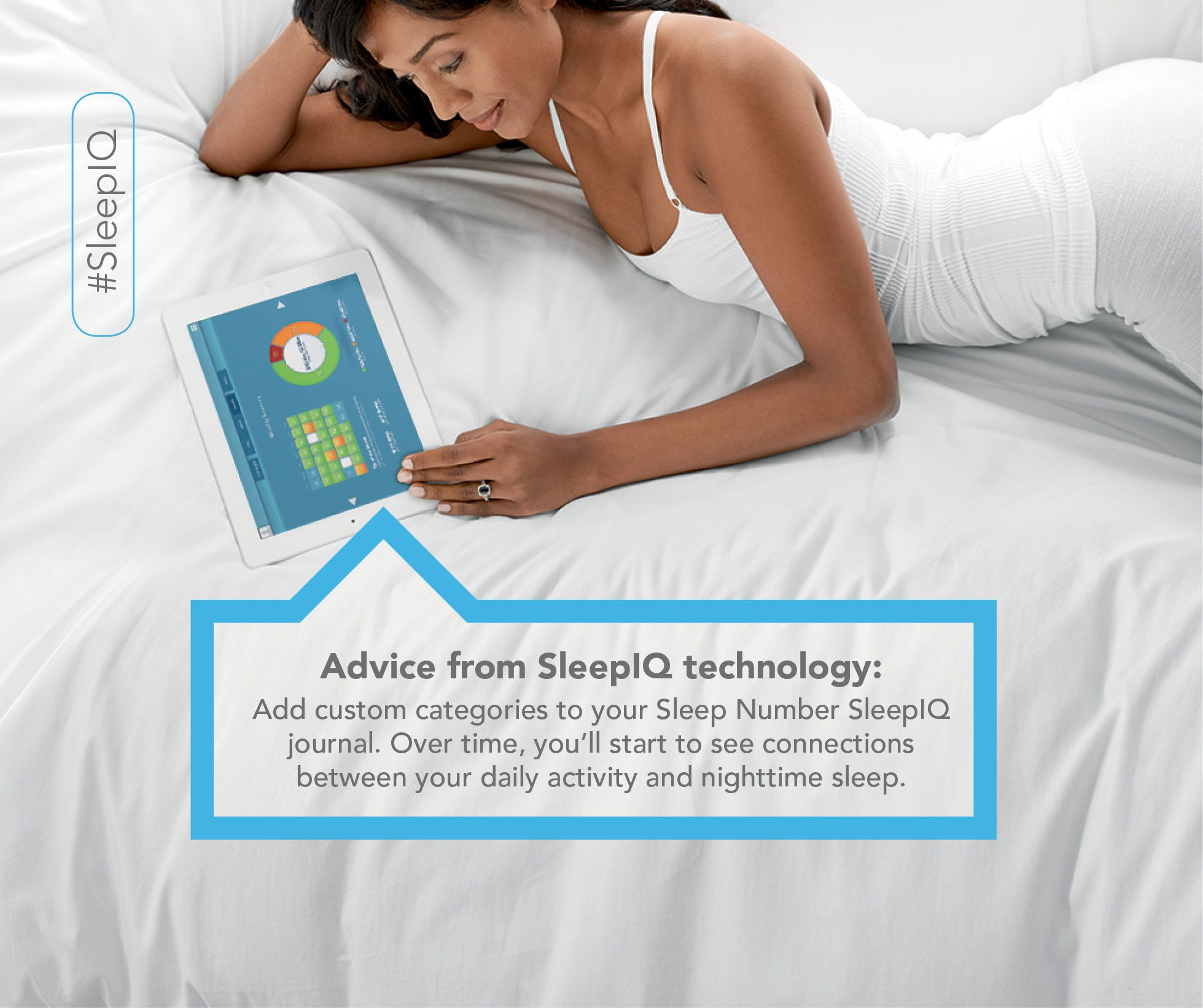Do You Keep A Sleep Journal Our New Sleep Tracker Monitor Sleepiq Technology Makes It Easy To Start Sleep Journals Can Sleep Journal Sleep Tracker Sleep