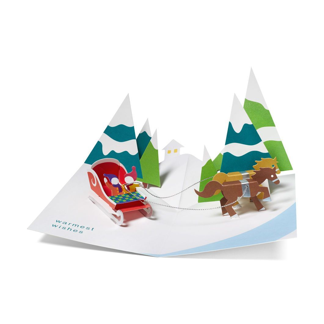 Pop Up Over the River 3D Holiday Cards | Products | Pinterest ...