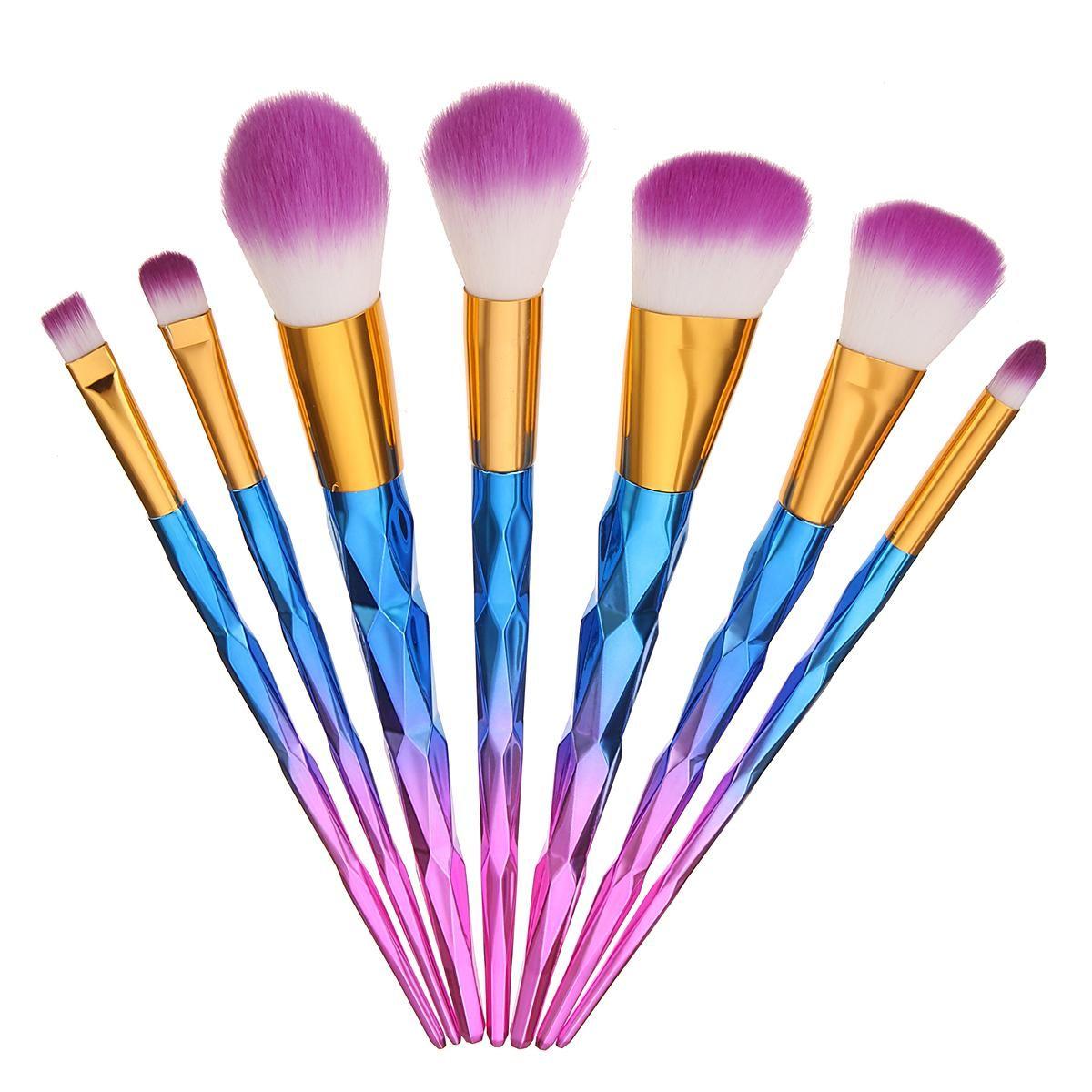 BangGood Eachine1 7pcs Makeup Brushes Kit Set Soft