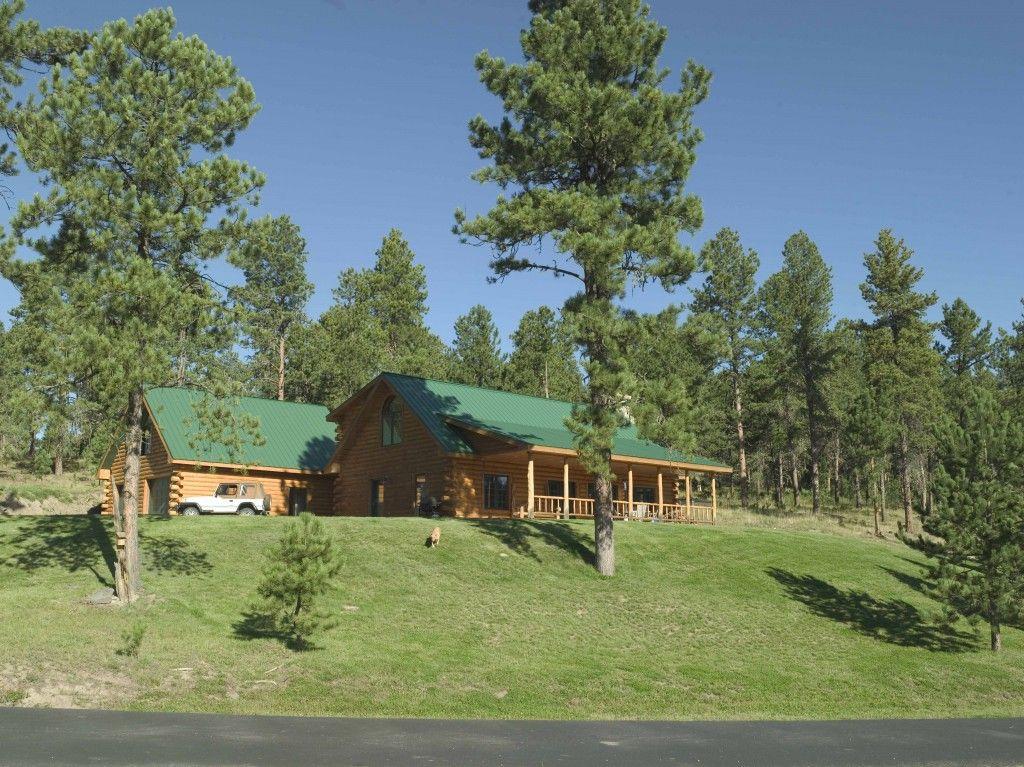 Morton buildings home in south dakota homes pinterest for Morton building cabin