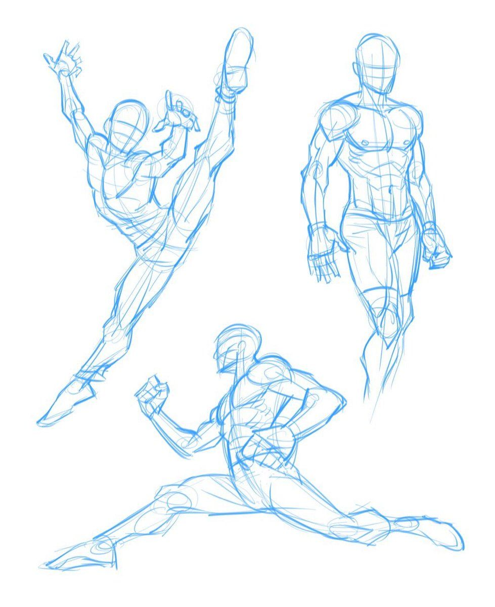 Image Result For Dynamic Action Poses Module 1 Character