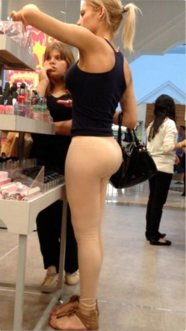 sexy yoga pants seduce