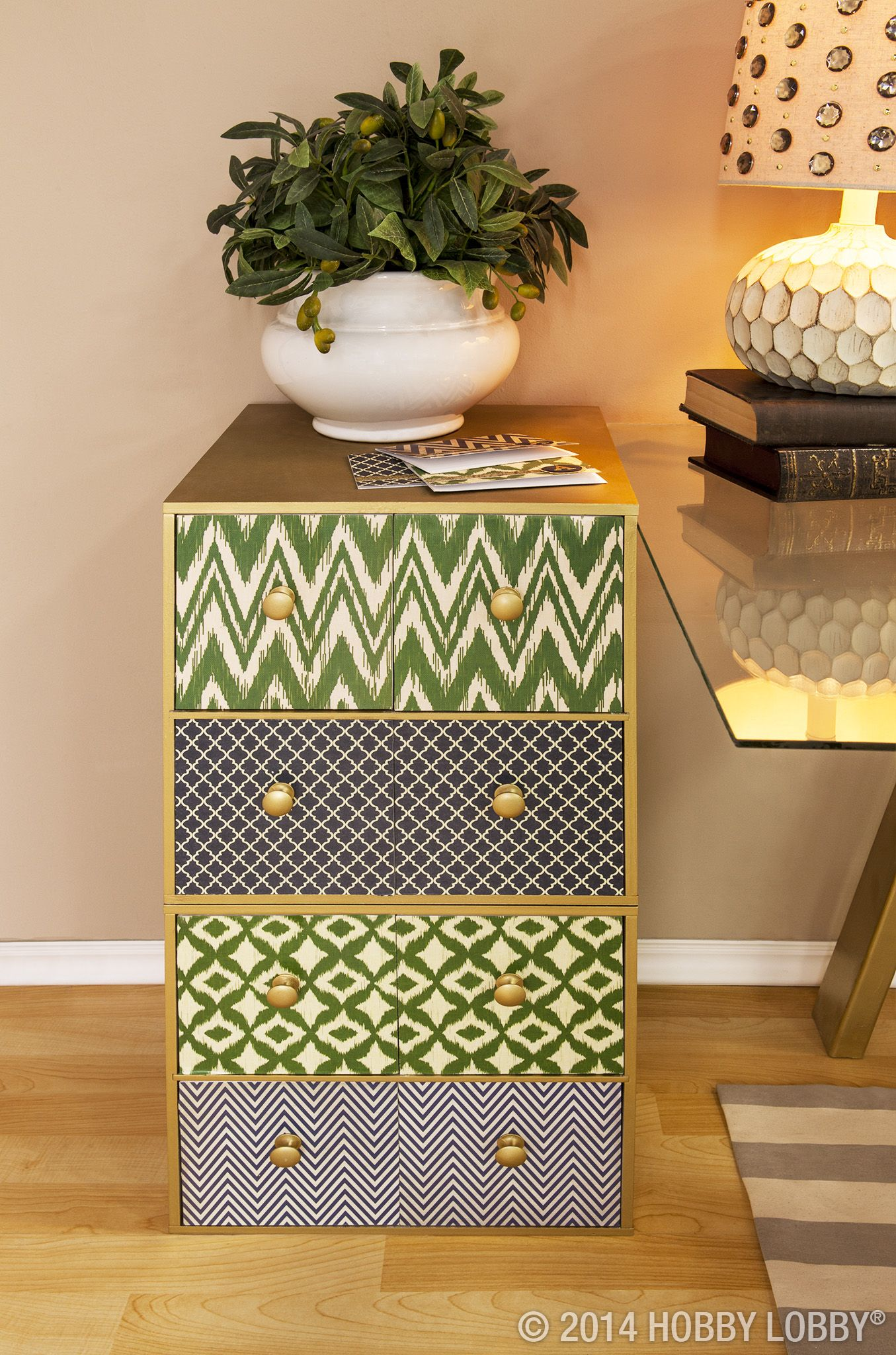Turn A Past Its Prime File Cabinet Or Two Stacked Organizer Cubes