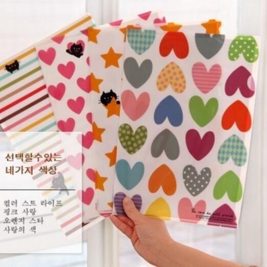 1pcs lot 31 22cm novelty cute pvc file bags designer folder