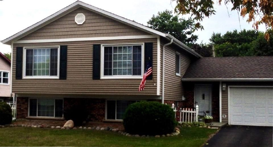Siding options for split level homes google search for House exterior options