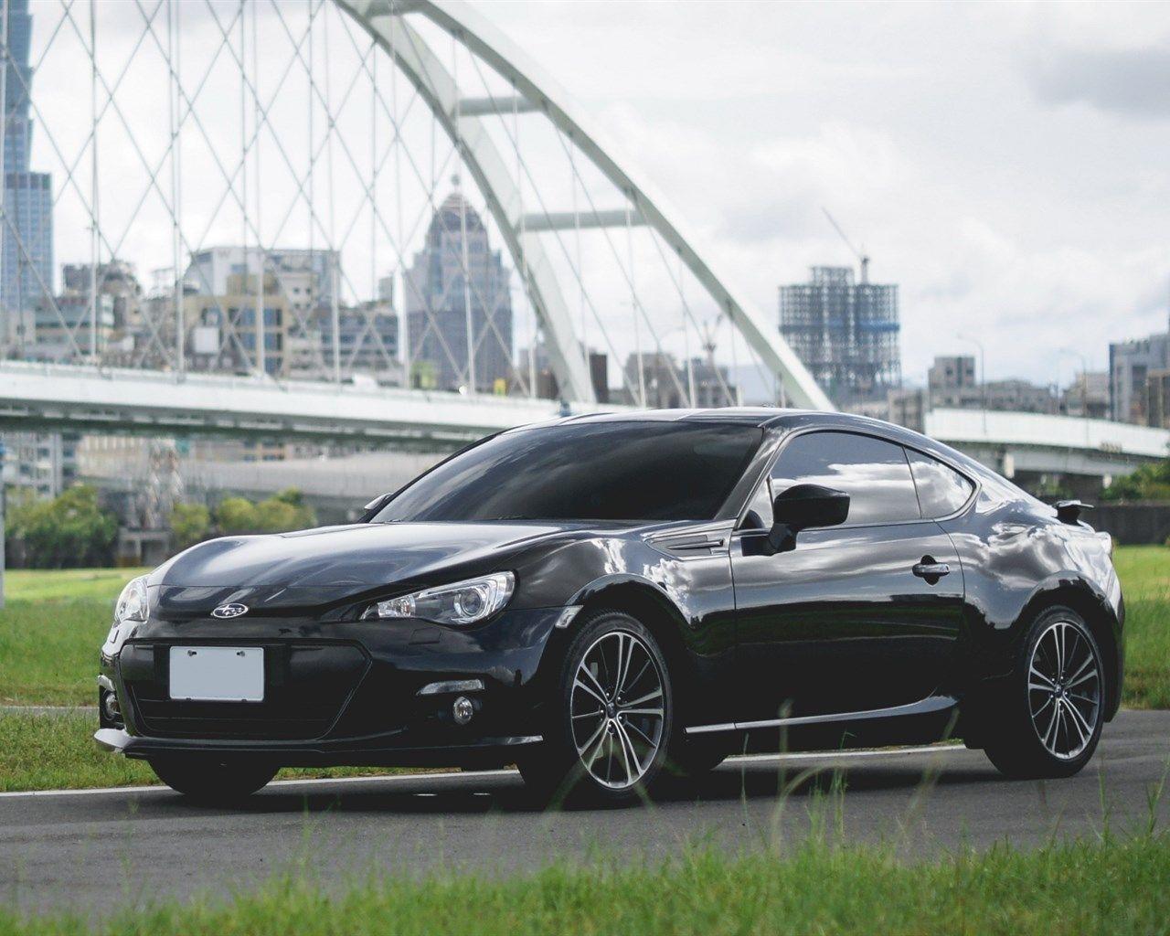 Subaru BRZ 2017 Black Sports Coupe Japanese Cars